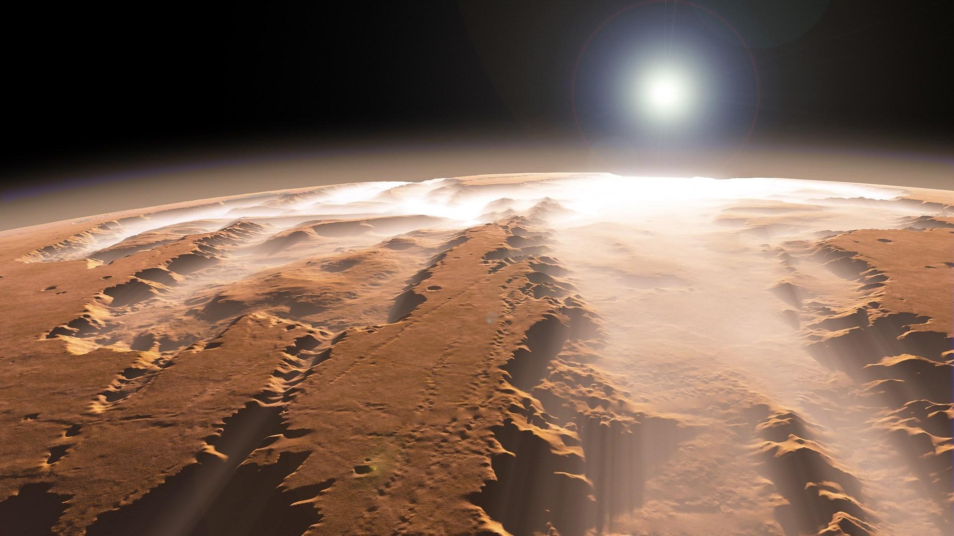 Жидкость на Марсе — соляной раствор
