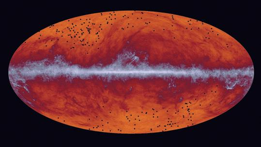 Месторождения галактических кластеров