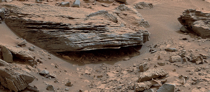 Течения в марсианских озерах