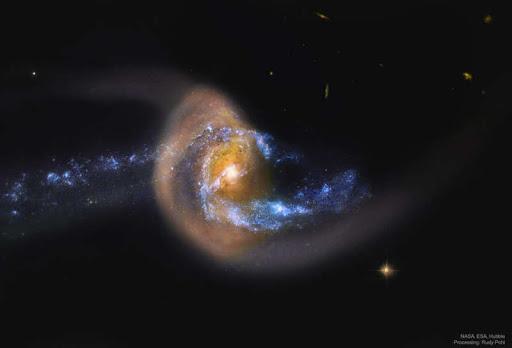 Последствия столкновения галактик