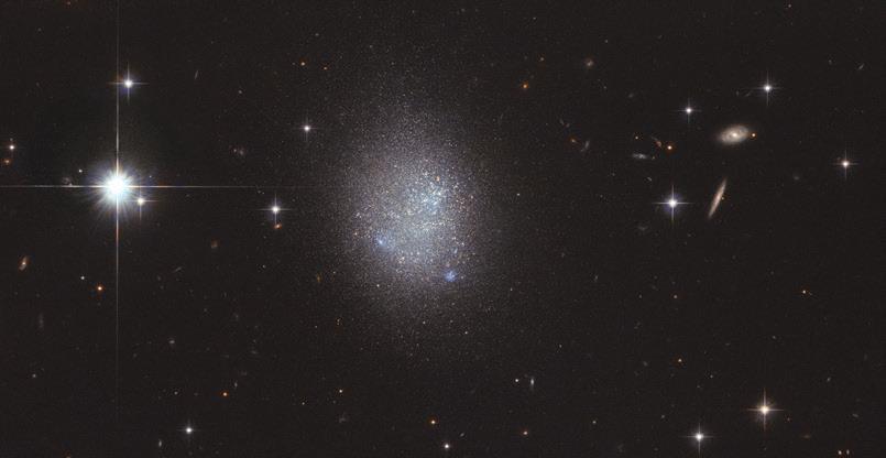 Hubble изучает компактные карликовые системы