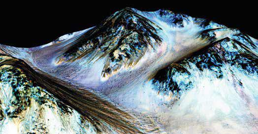 Вода на Марсе существует в наши дни