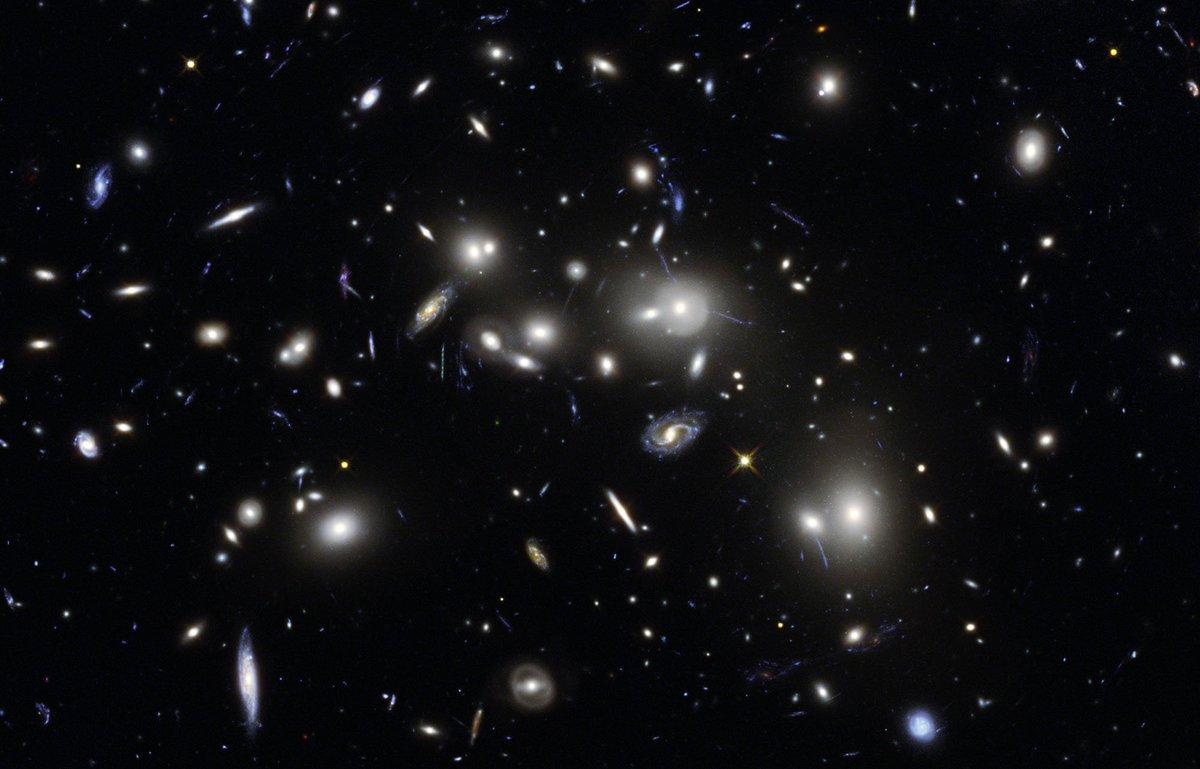 Компьютер научили различать галактики