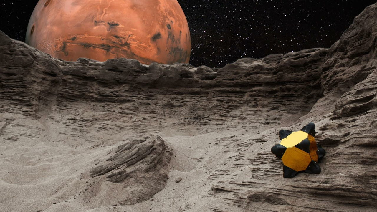 «Прыгающий робот» для астероидов