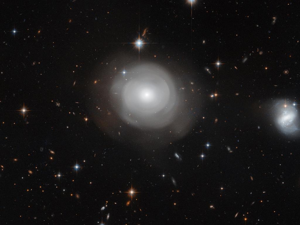 Цветущая галактика