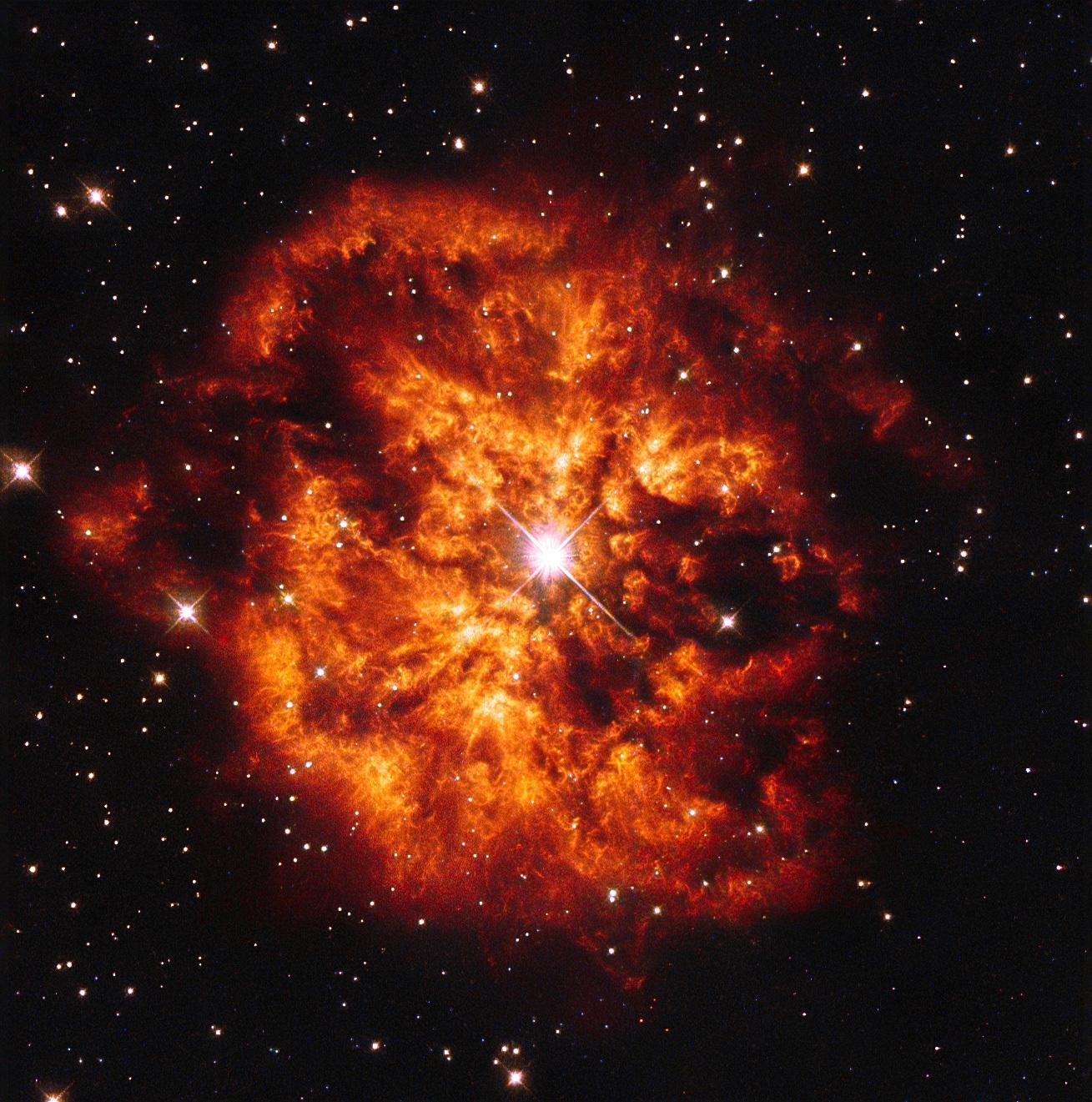 Звезда, создавшая туманность