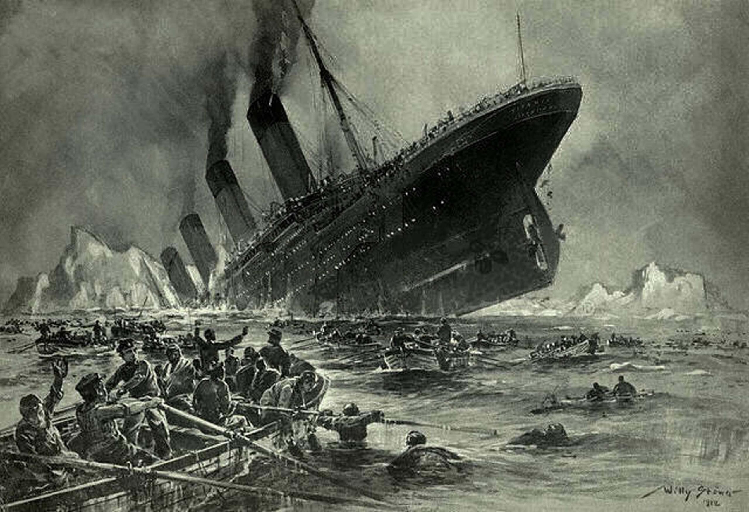 Трагедию «Титаника» предсказали за 14 лет