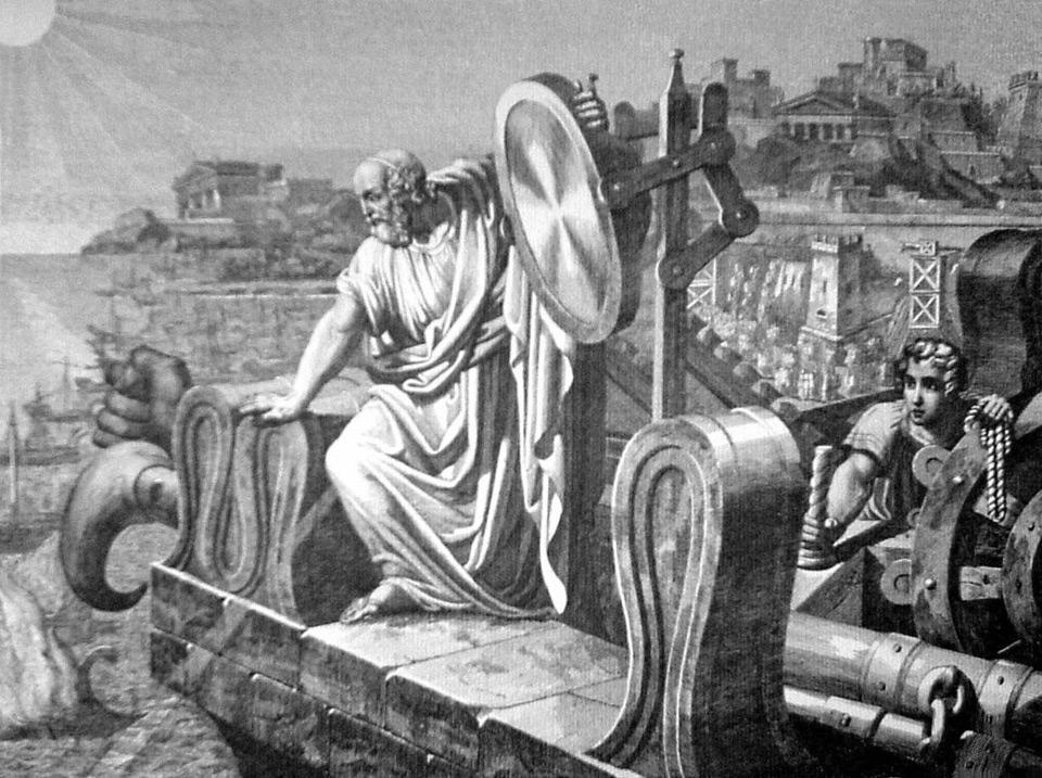 Гиперболоид Архимеда сжег римский флот?!