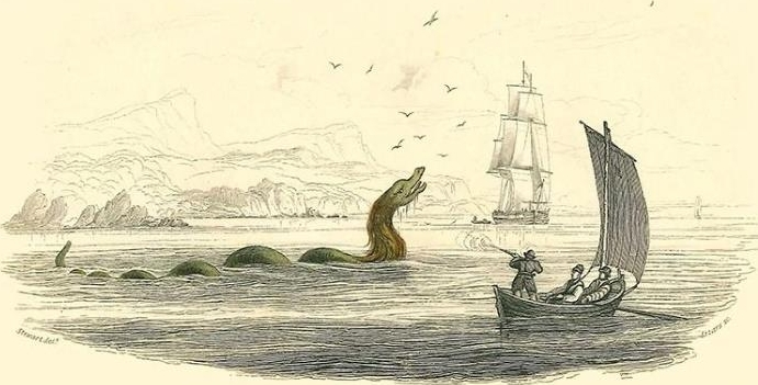 Капитан, застреливший морского змея