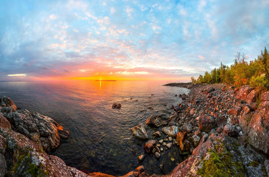 Ладожское озеро - место, где время течет вспять