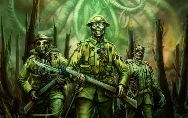«Зомби» служат в армии
