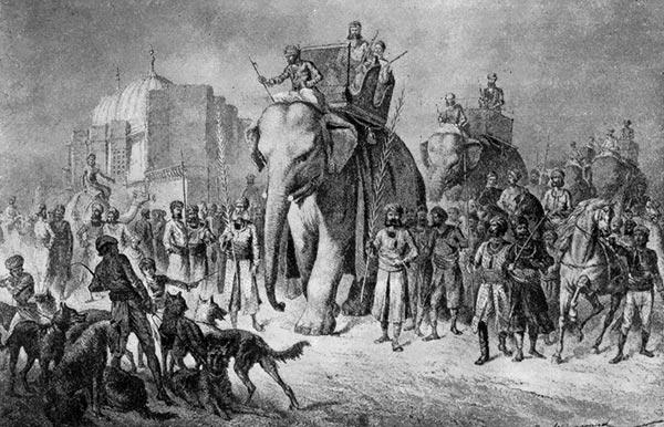 Электрический бог против британских колонизаторов