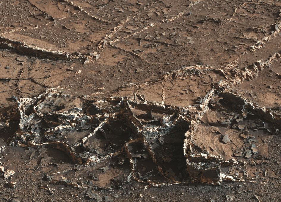 Минеральная летопись марсианской истории