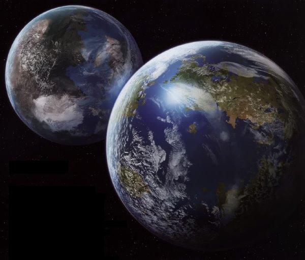 Планета Глория - таинственная сестра земли