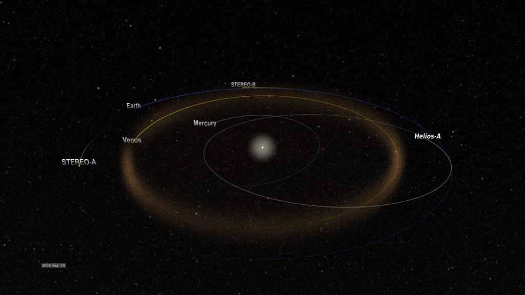 «Пыльная» орбита Венеры