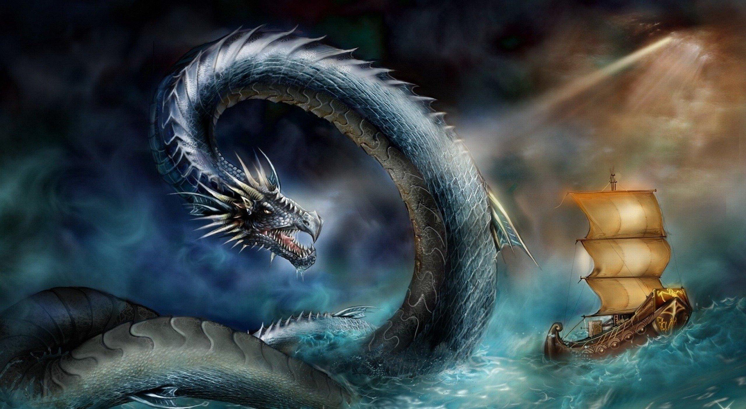 Великий морской змей: легенды народов мира