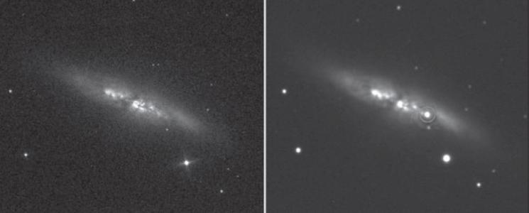 Яркая Сверхновая в M82