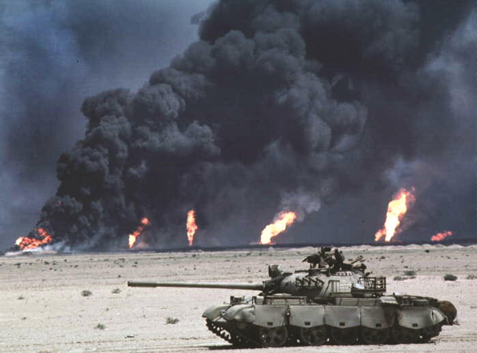 «Ядерная осень» в Персидском заливе - рукотворный ад Саддама Хусейна