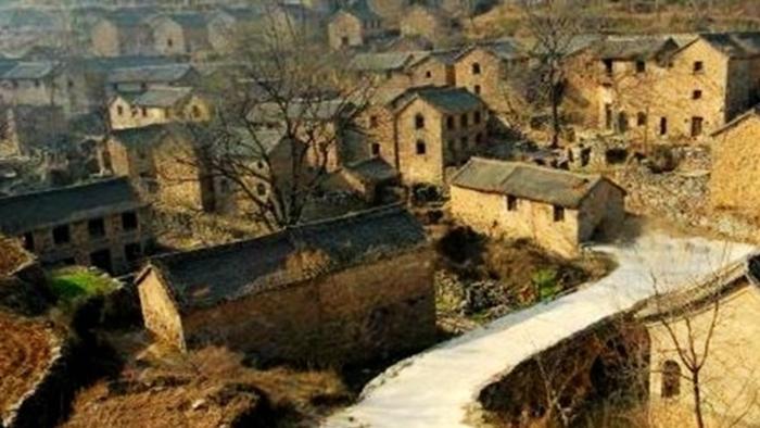 Деревня призраков в провинции Шэньси