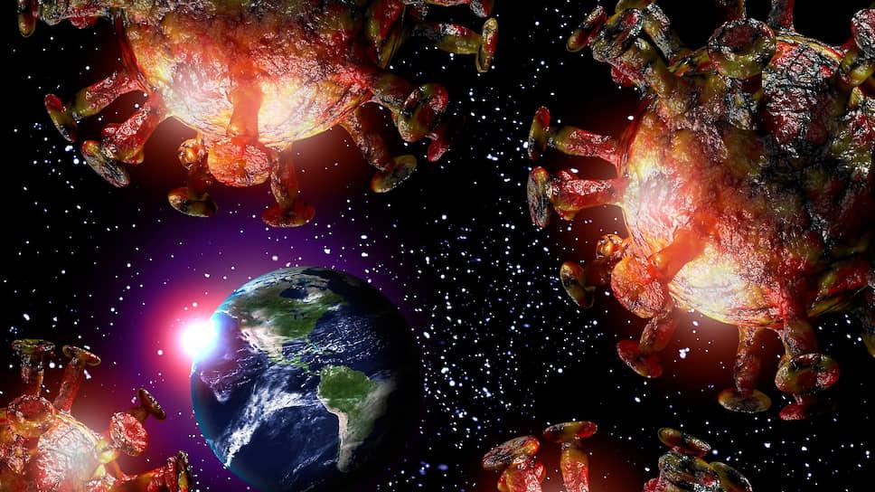 Коронавирус - биологическое оружие инопланетян