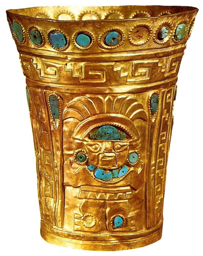 Золотой бокал инков