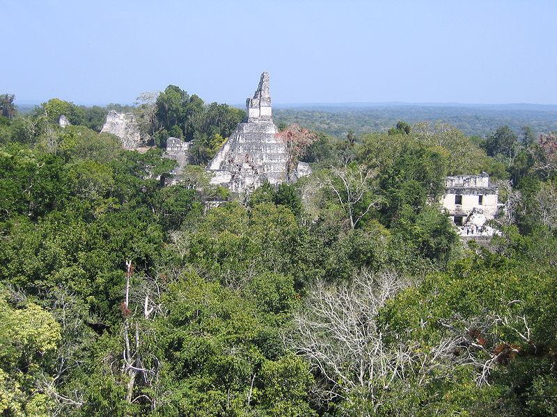 Неизвестная пирамида майя