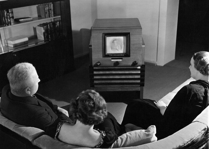 Телевидение появилось в Германии еще в 1935 году