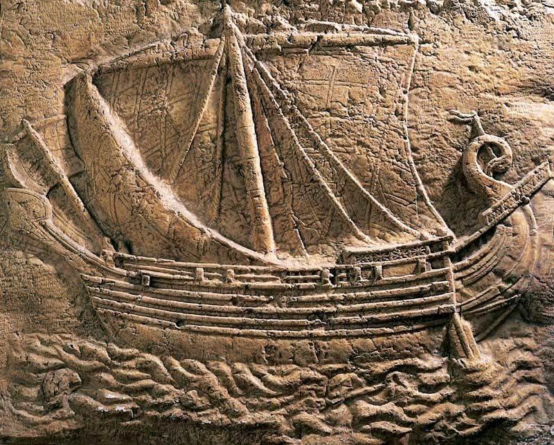 История древнего судоходства