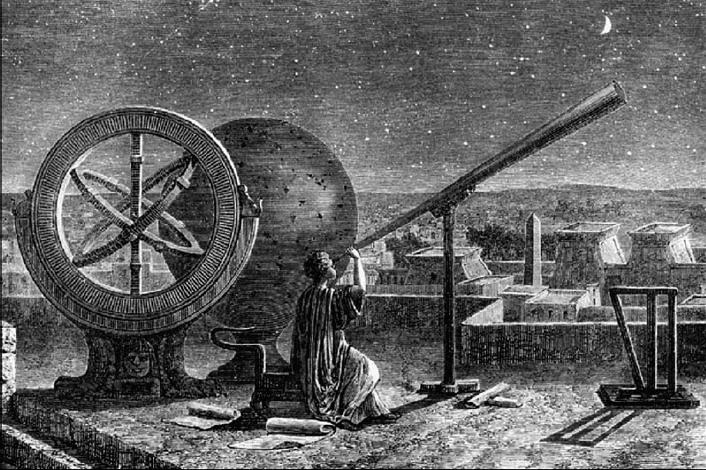 Древнейший телескоп
