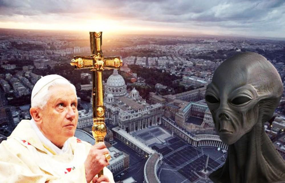 Пришельцы в Ватикане