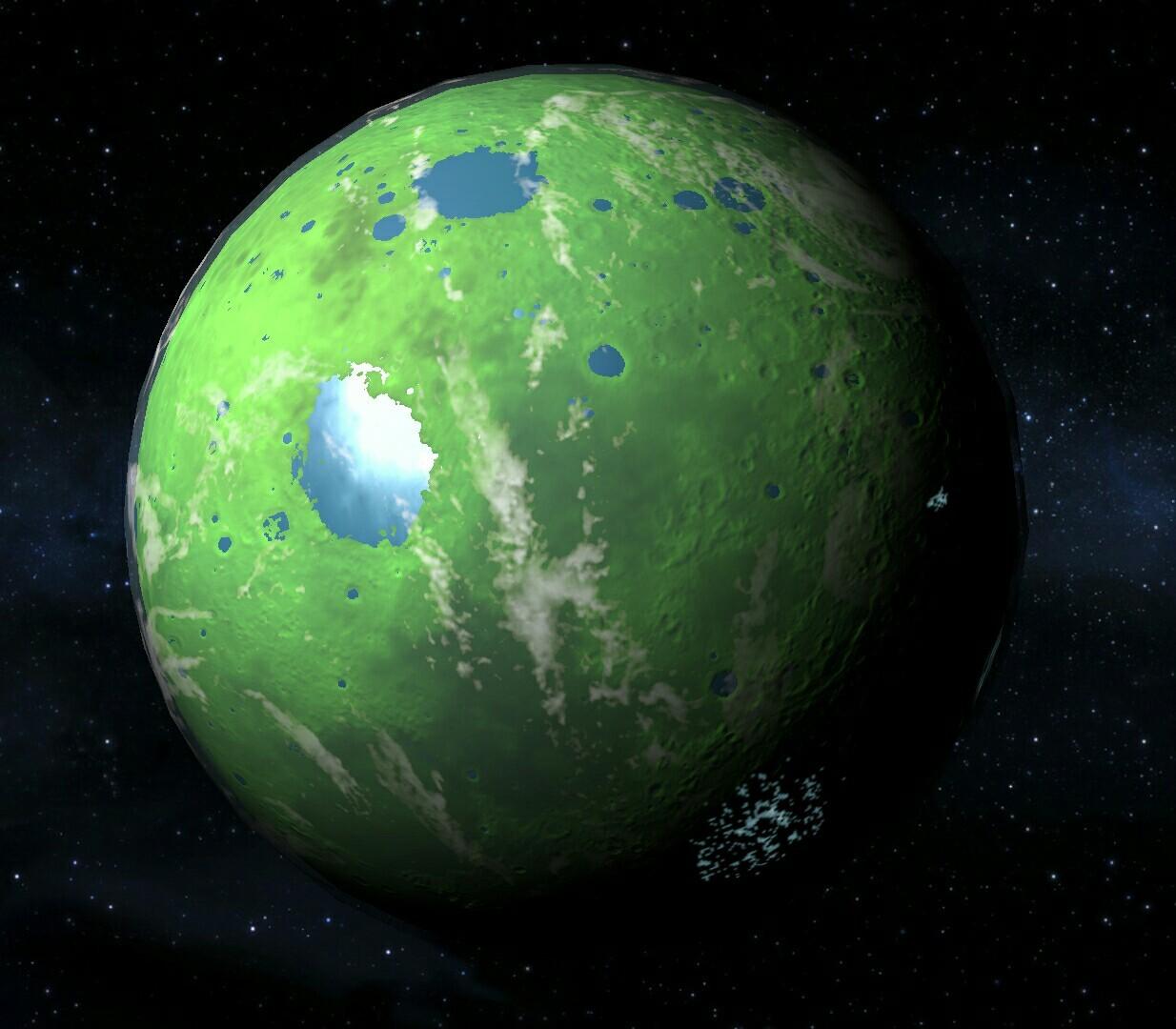 Кое-что об озеленении Луны
