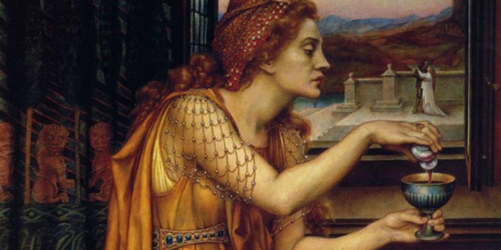 Локуста - отравительница Цезарей
